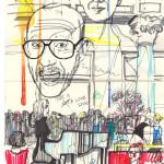 Skizze von Henrik Abrahams