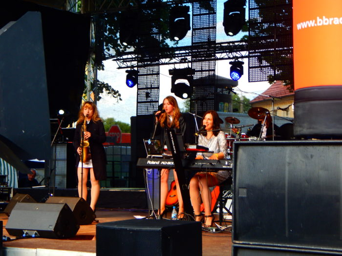 Coverband Pearls of Berlin auf dem Stadtfest Cottbus
